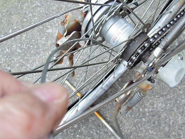 自転車を使う必要がある場合 ... : 自転車 スポーク 外れた : 自転車の